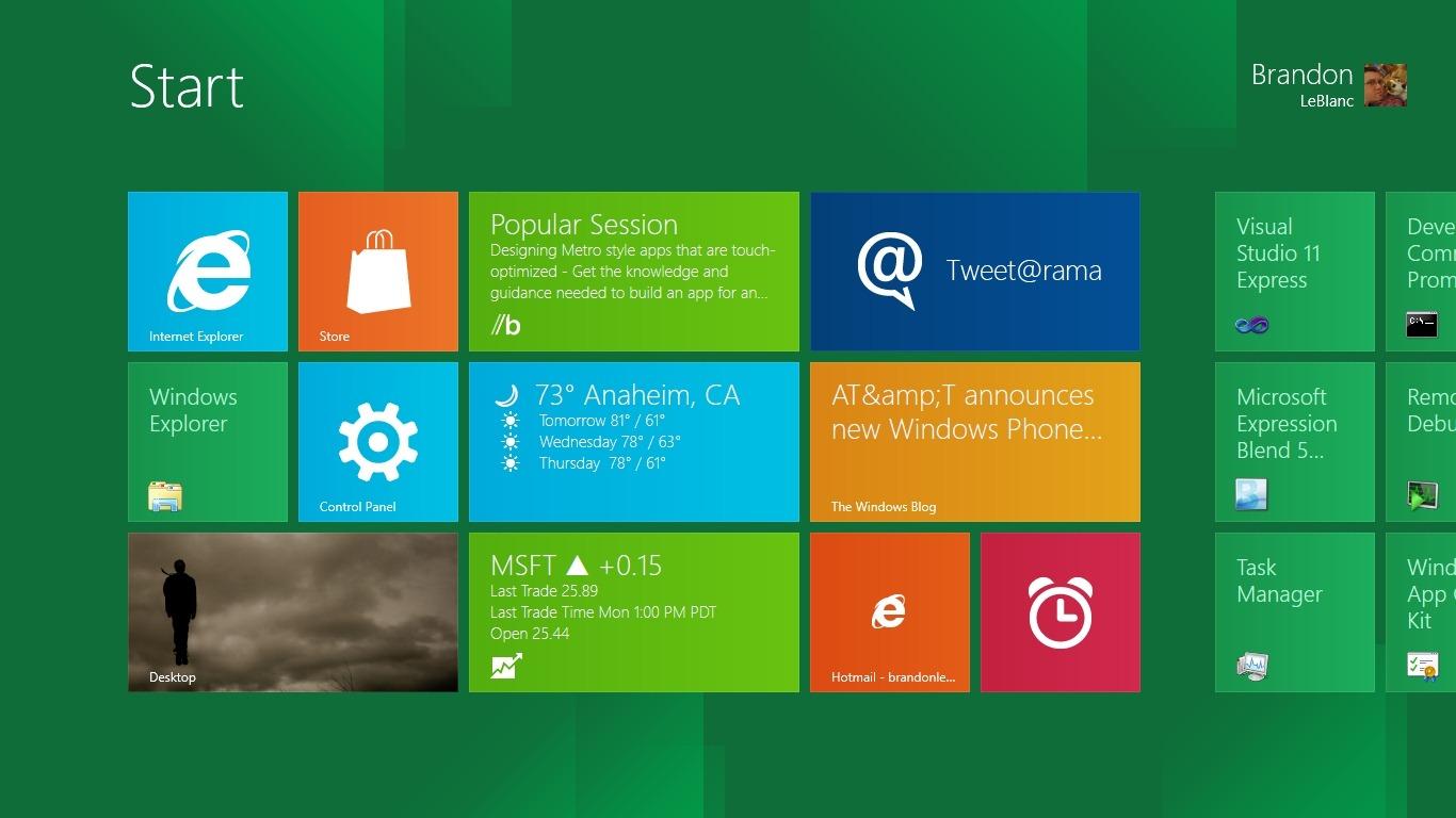 Upgrade para Windows 8 custará US$ 39,99