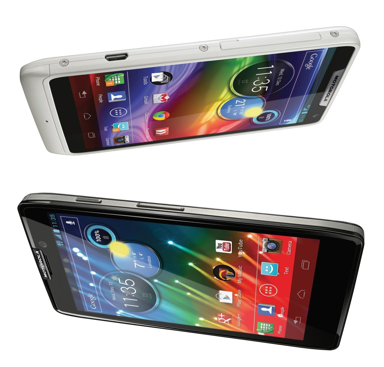 Foi anunciado o Motorola Razr HD, o primeiro smartphone 4G do Brasil
