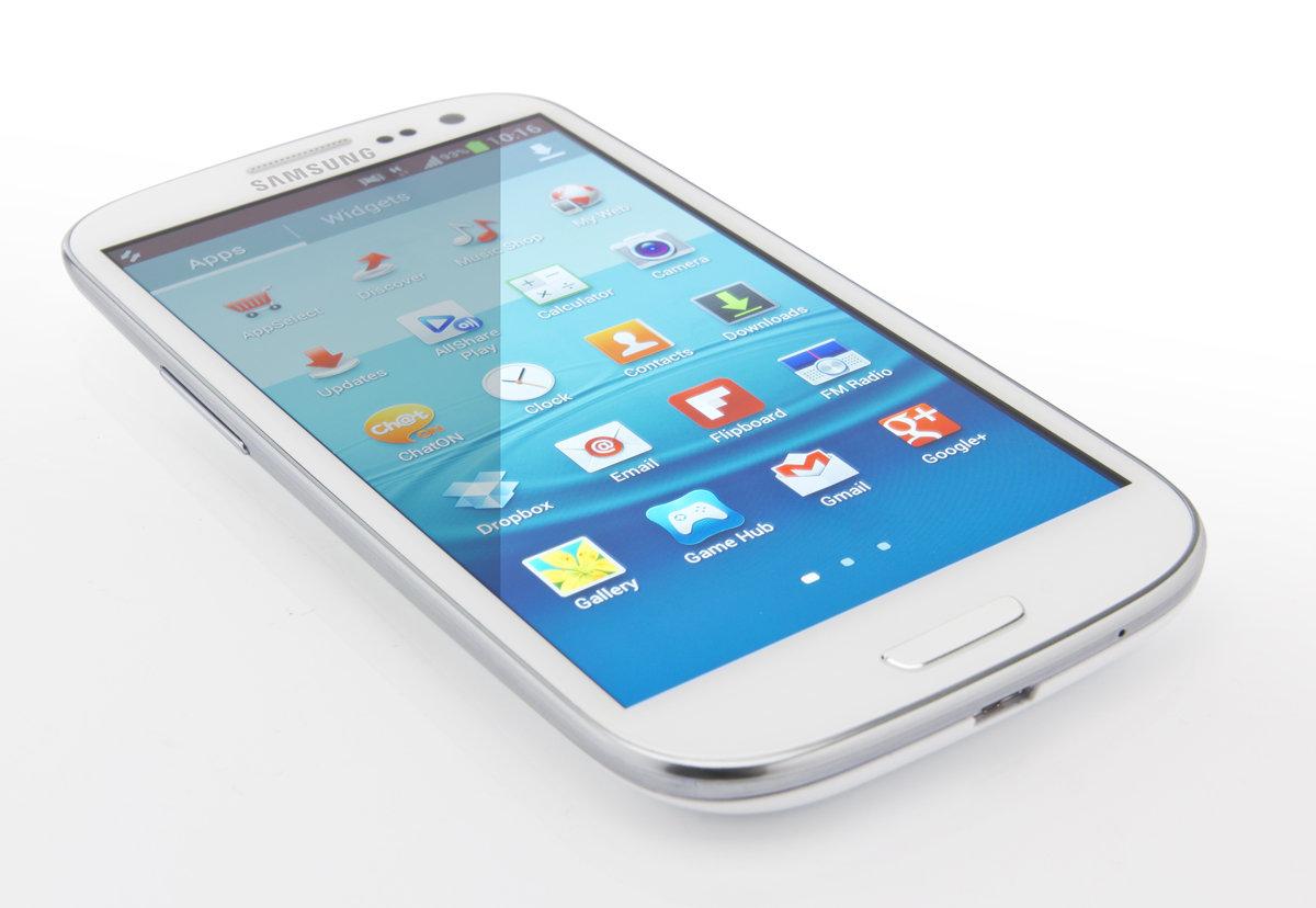 Jelly Bean chega ao Samsung Galaxy S III em outubro