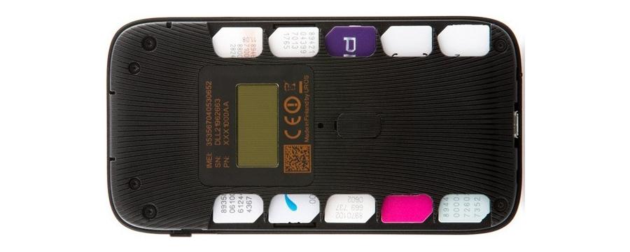 Conheça o Uros Goodspeed, o modem 3G de 10 chips