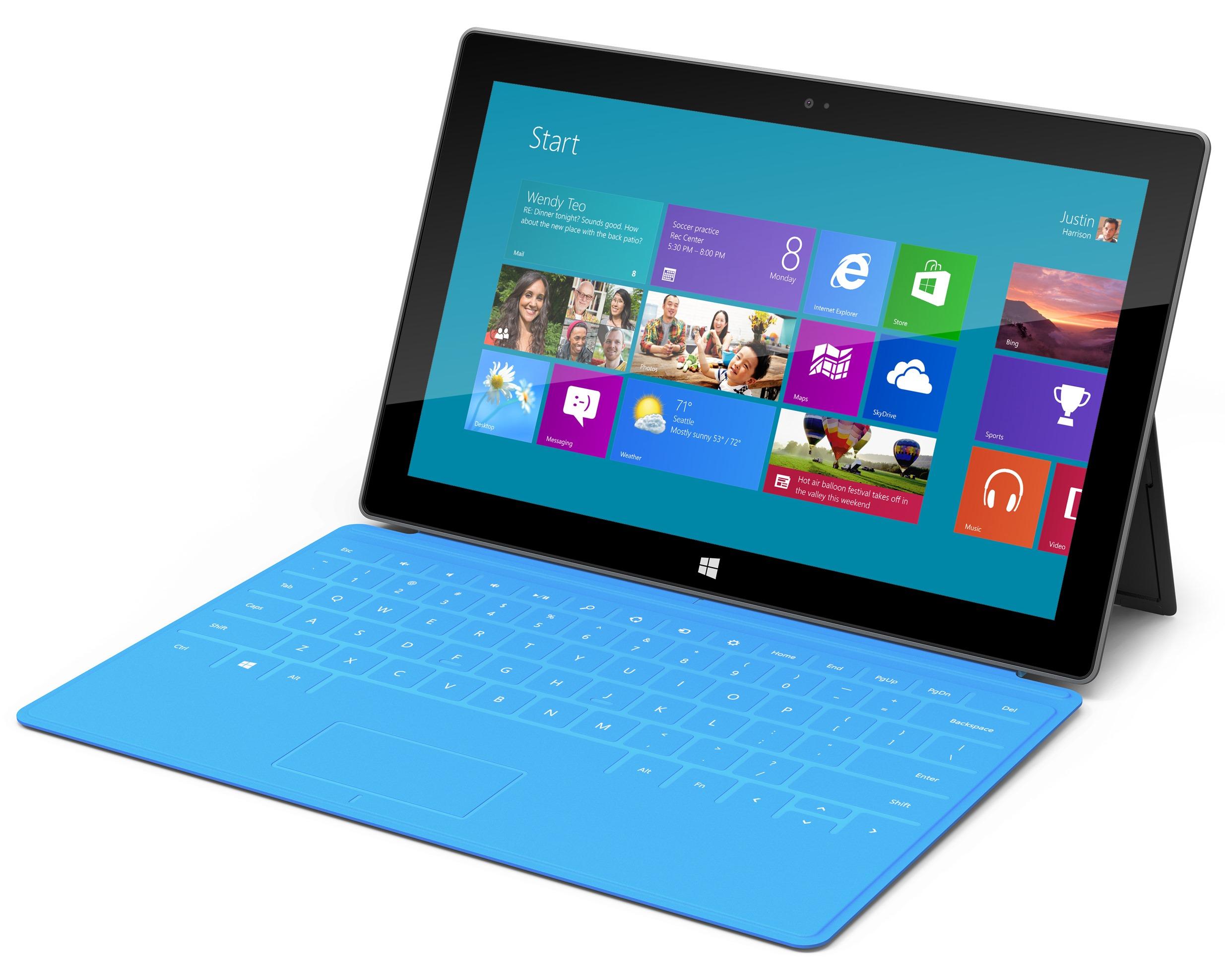 Vazam os preços do Microsoft Surface