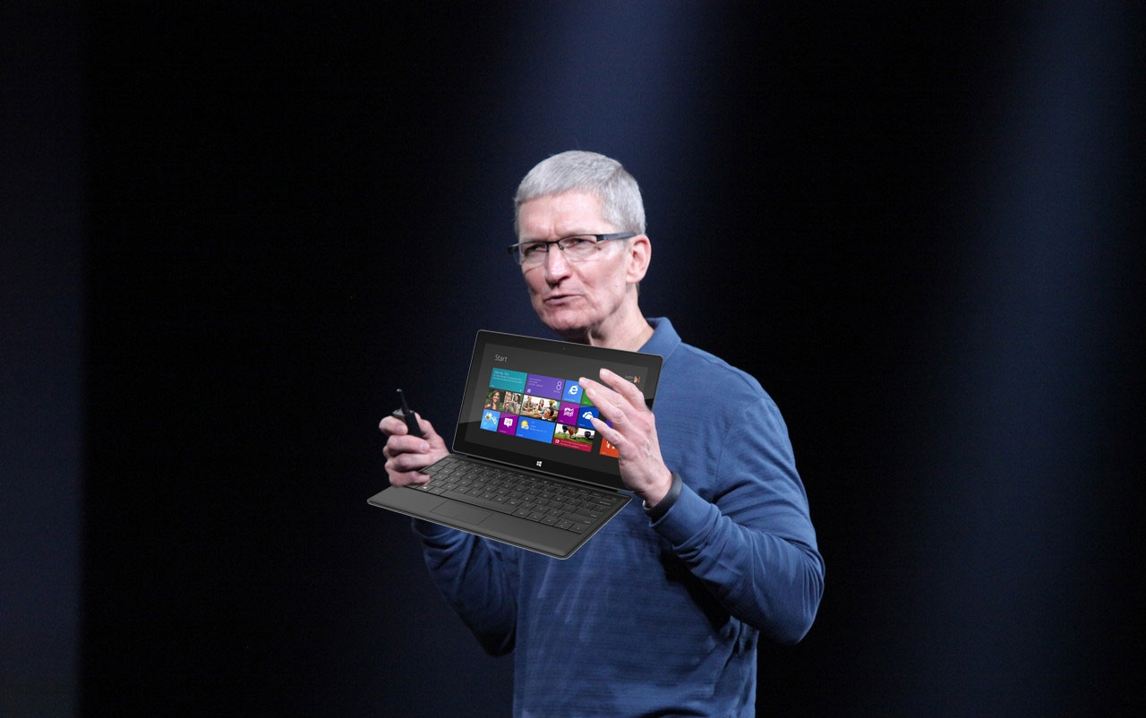 Tim Cook comenta sobre tablets de 7 polegadas e o Surface