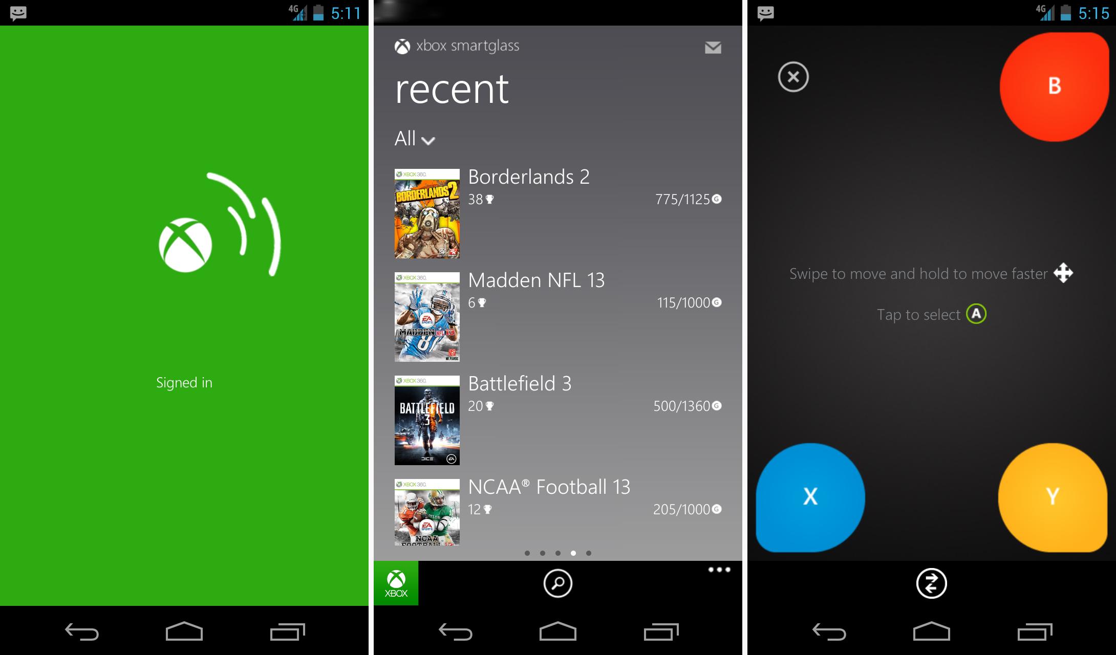 Aplicativo Xbox SmartGlass já está disponível para Android