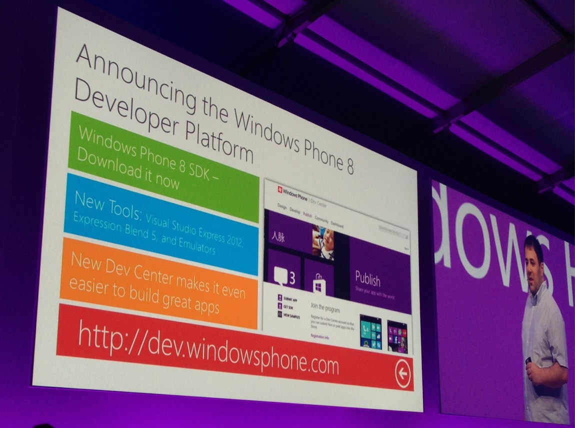 A versão SDK do Windows 8 já está disponível