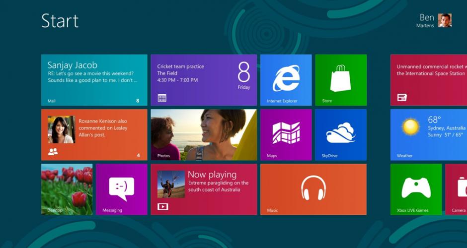 Windows 8 já vendeu mais de 40 milhões de unidades