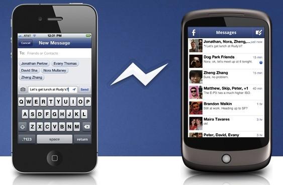 Novo Facebook Messenger para Android chegou, sem necessidade de conta