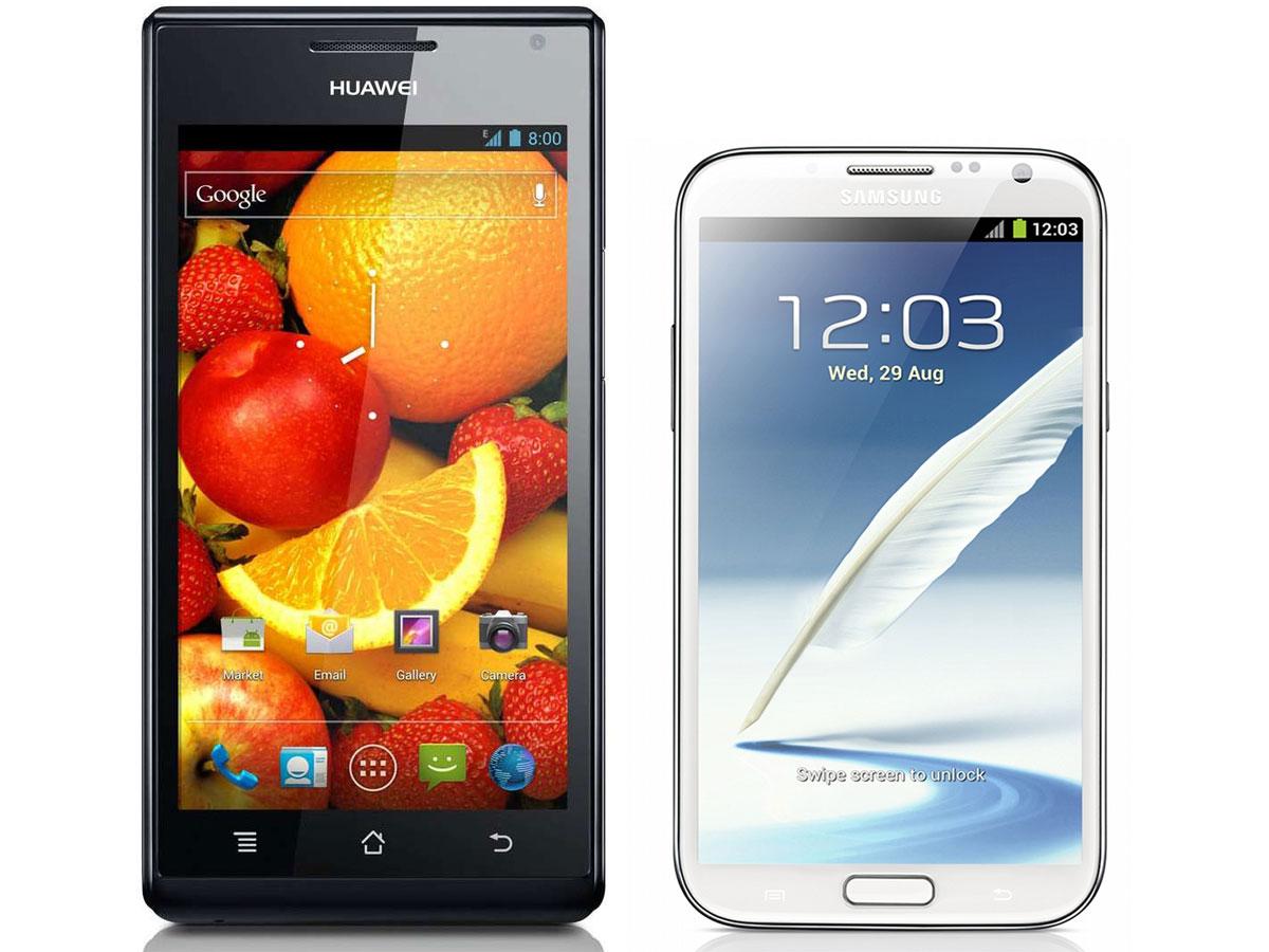 Huawei irá produzir smartphone para competir com o Galaxy Note II