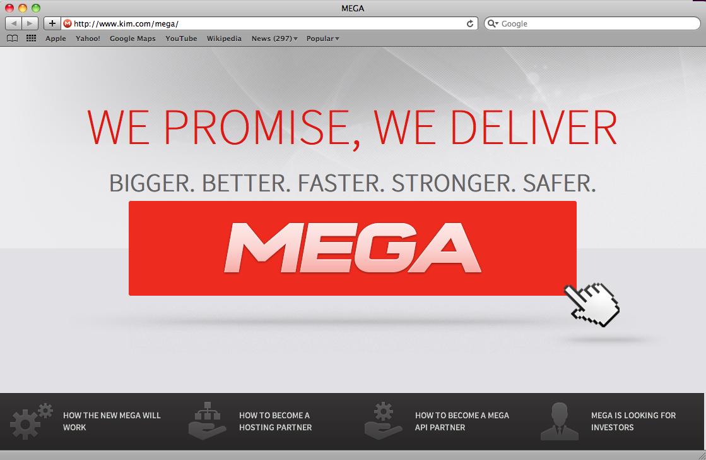 Novo Megaupload chega amanhã com 50 Gb de espaço para armazenamento
