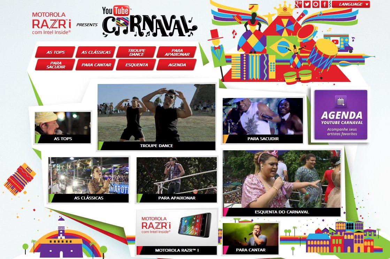 Motorola inicia campanha de divulgação do Motorola Razr i no Carnaval 2013