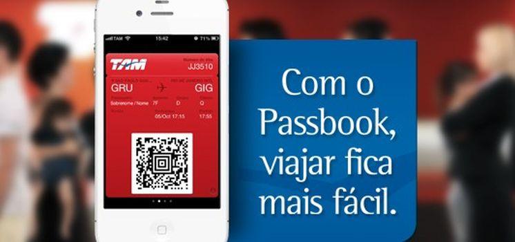 TAM é a primeira companhia aérea brasileira a utilizar o Passbook do iPhone