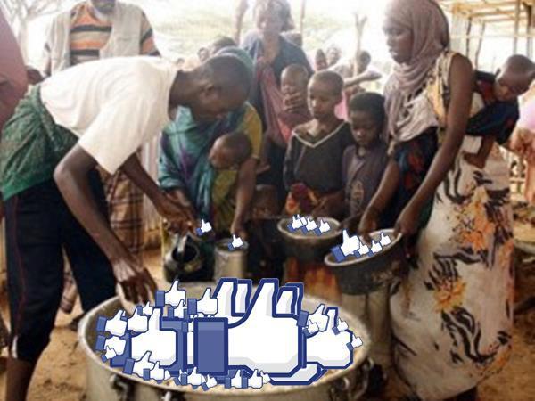 Unicef faz campanha mostrando que likes no Facebook não salvam a vida de ninguém
