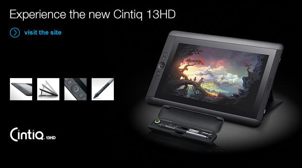 Wacom lança nova Cintiq de 13 polegadas e Full HD