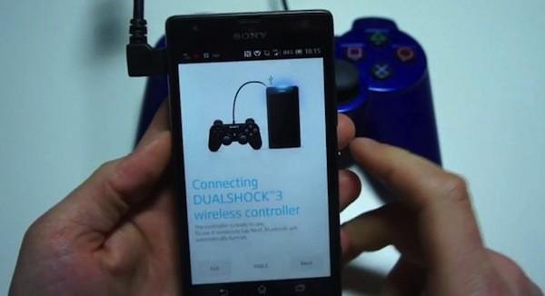 Novos Smartphones da Sony serão compatíveis com o DualShock 3, o controle do PlayStation 3