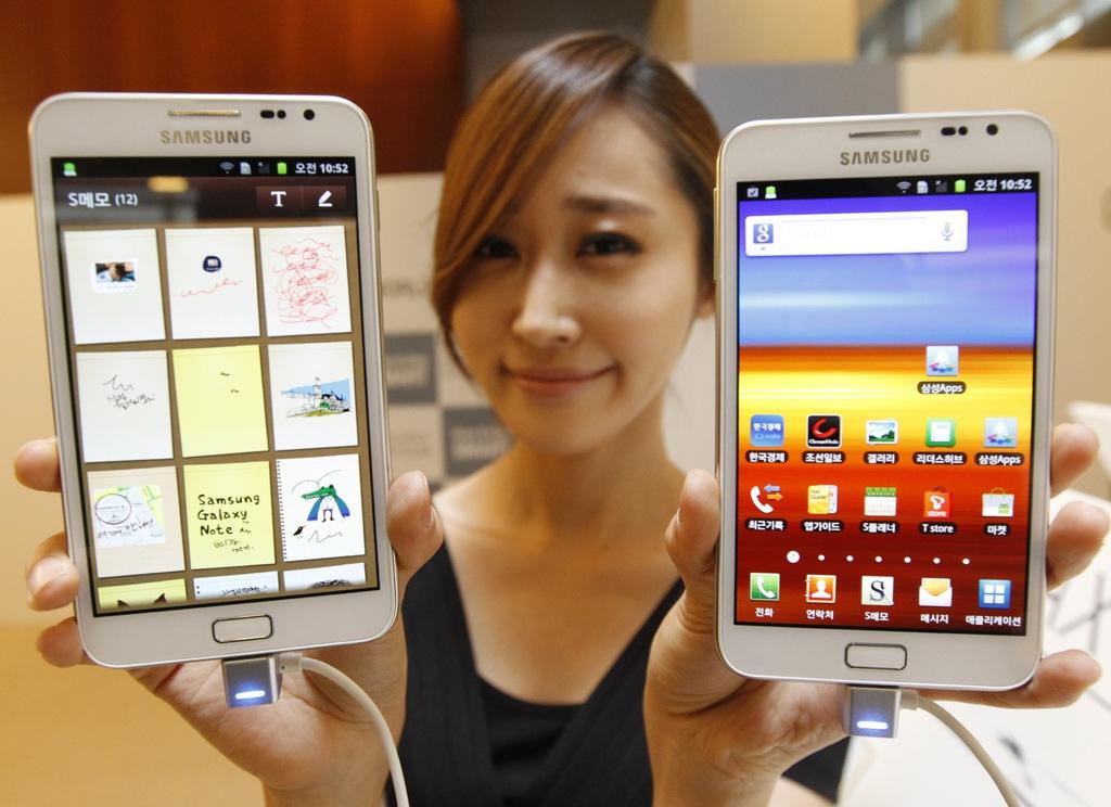 Nova linha Galaxy Mega trará smartphones enormes de 5,8 e 6,3 polegadas
