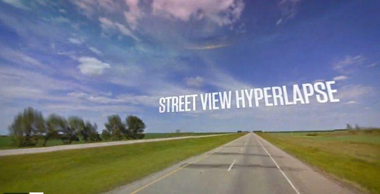 Conheça o Google Street View Hyperlapse, uma maneira rápida e fluida o caminho a ser feito pelo Google Street View