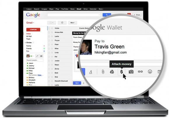 Agora será possível anexar dinheiro via Gmail