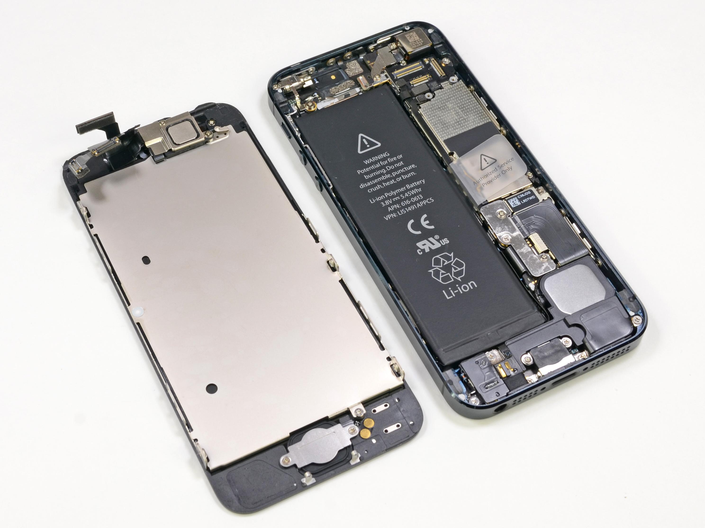 Fotos de supostas peças do iPhone 5S vazam na internet