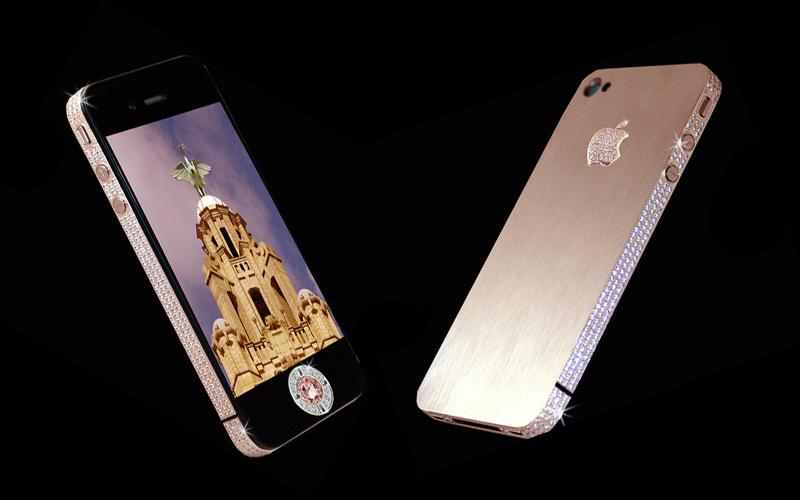 iPhone 5 coberto de diamantes é o smartphone mais caro do mundo