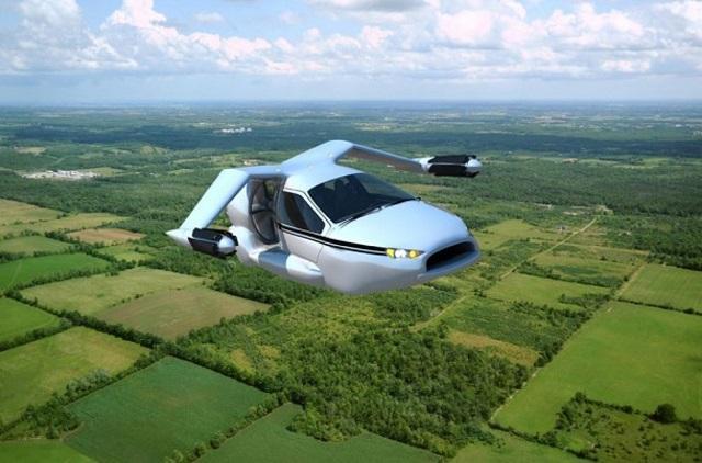 Empresa cria conceito de carro voador híbrido que decola como um helicóptero