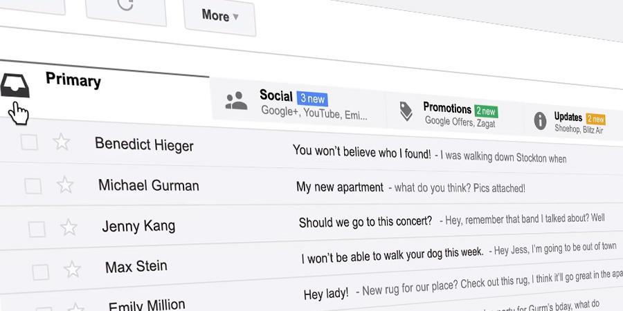 Como conseguir a nova caixa de entrada no Gmail