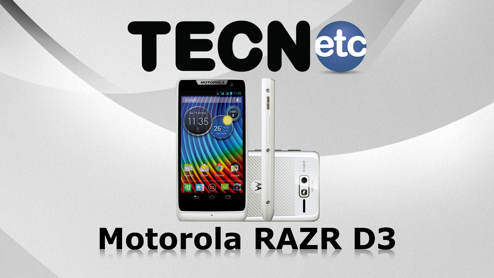 Motorola RAZR D3: Unboxing e Review