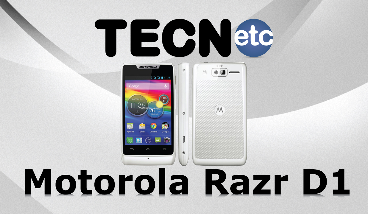 Motorola RAZR D1: Unboxing e Review