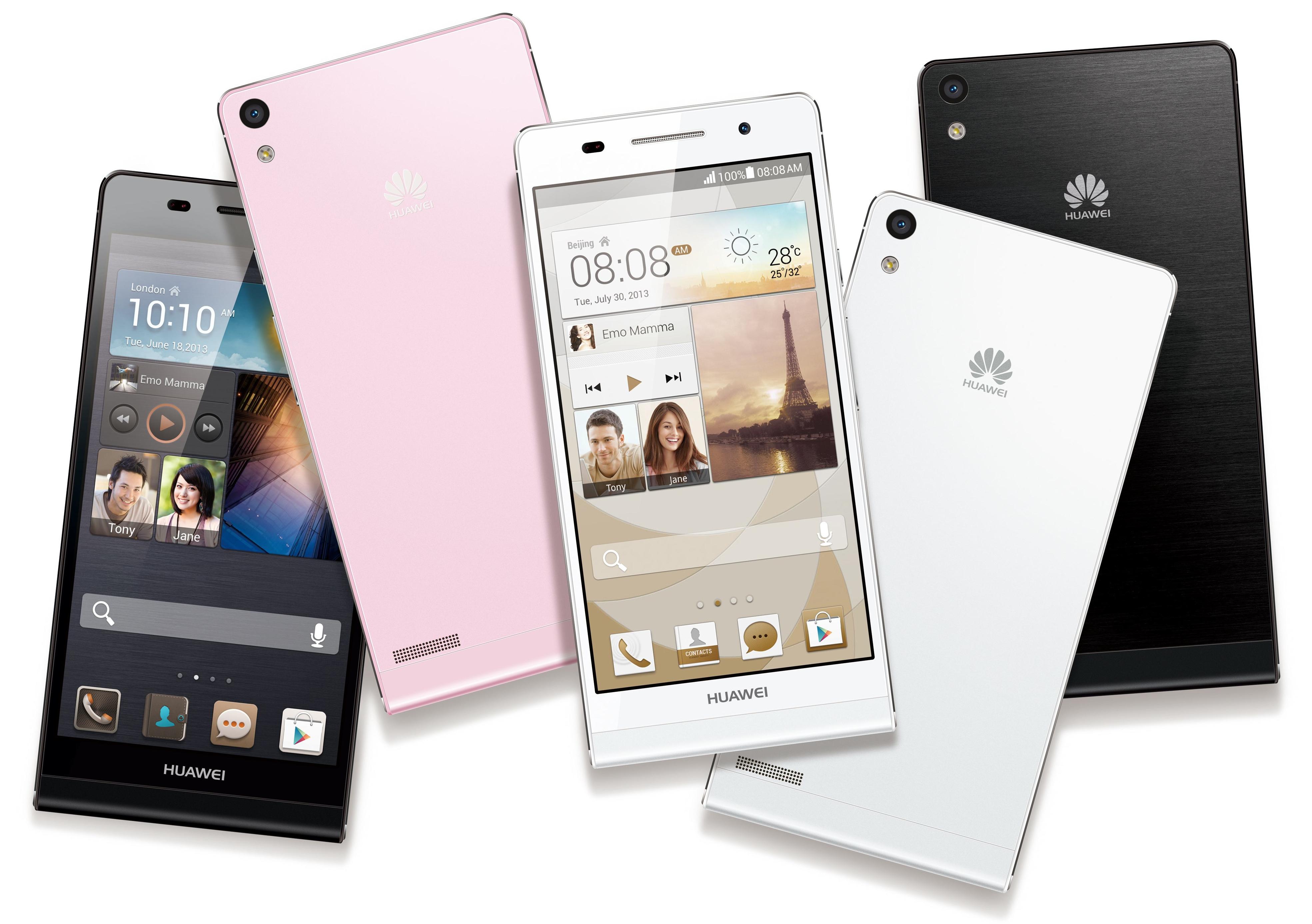 Chega no Brasil o Huawei Ascend P6, o smartphone mais fino do mundo