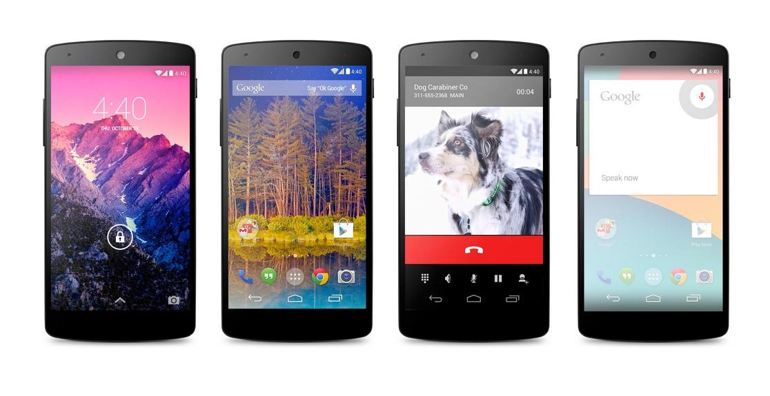 Sem grandes alardes ou comemorações, Google anuncia o Nexus 5 com Android 4.4 KitKat