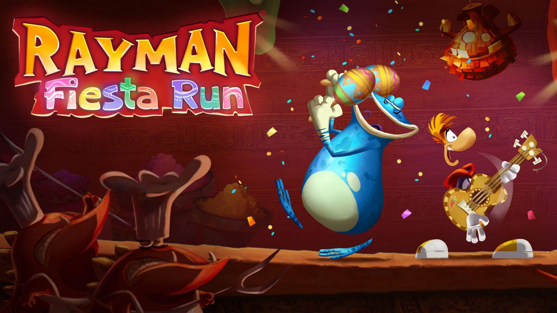 Rayman Fiesta Run é lançado para Android e iOS
