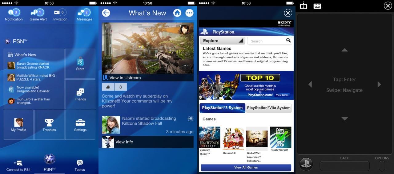 PlayStation App já disponivel para Android e iOS