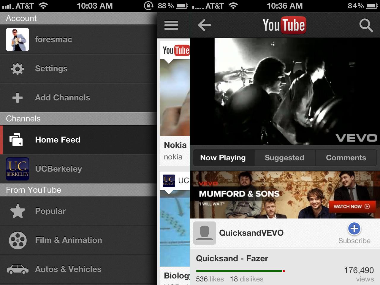 40% das visualizações do YouTube vem de plataformas mobile