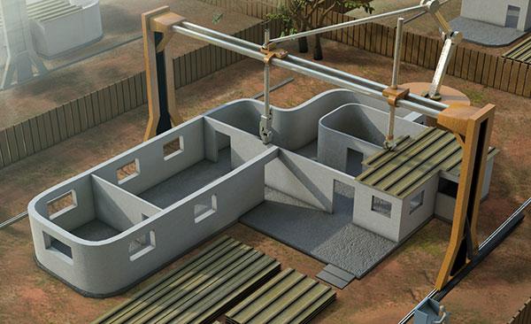 Impressora 3D gigante pode uma casa em 24 horas!