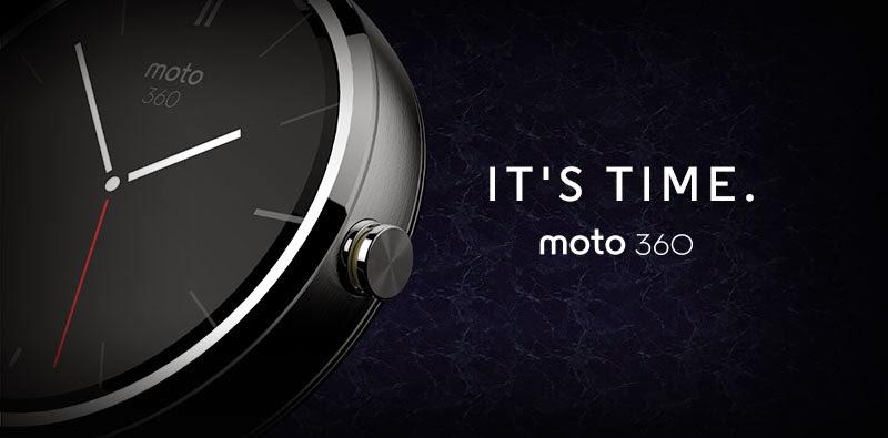 Conheça do Moto 360, o smartwatch da Motorola