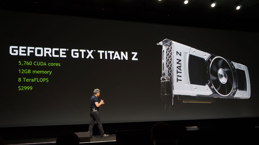 NVIDIA anuncia a GeForce GTX Titan Z