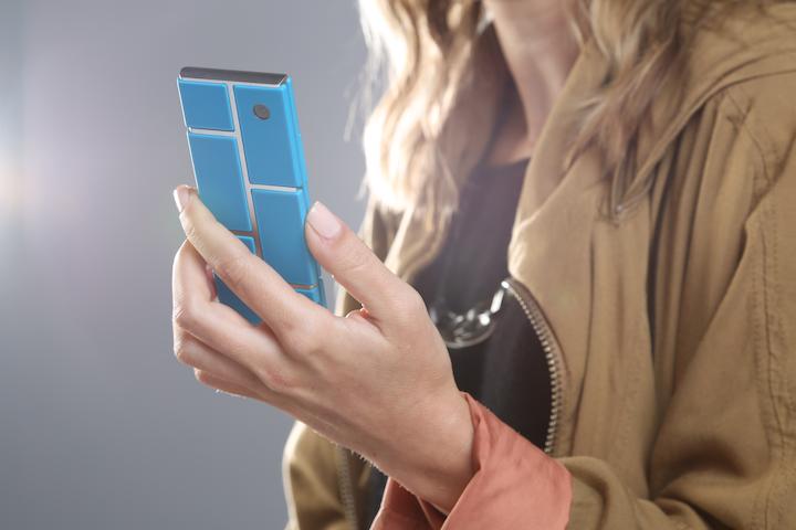 O celular modular da Google será lançado em Janeiro de 2015