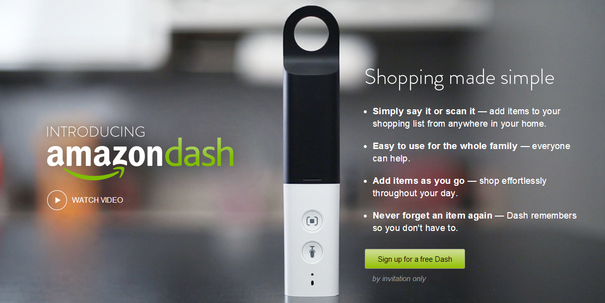 Amazon moderniza compras com Dash