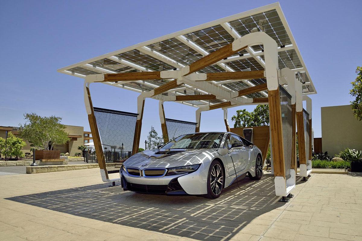 BMW apresenta conceito de garagem ecológica para veículos elétricos