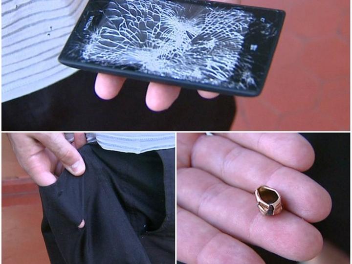 Nokia Lumia 520 desvia bala e salva vida de policial
