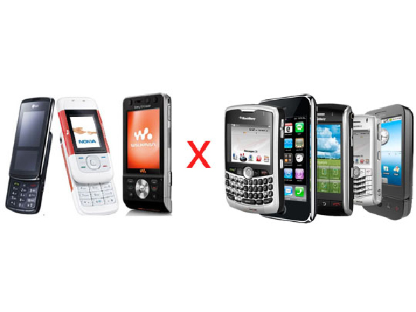 Saiba a diferença entre Celulares e Smartphones