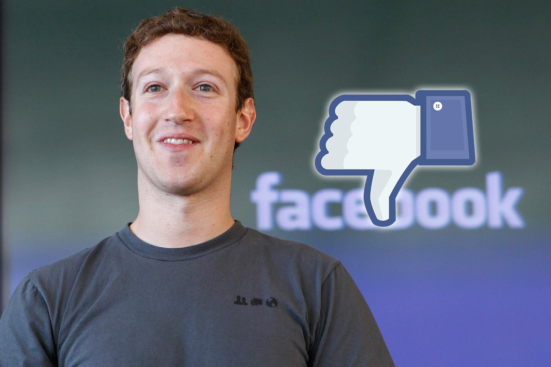 """Mark Zuckerberg confirma que Facebook terá botão """"Não curti"""""""