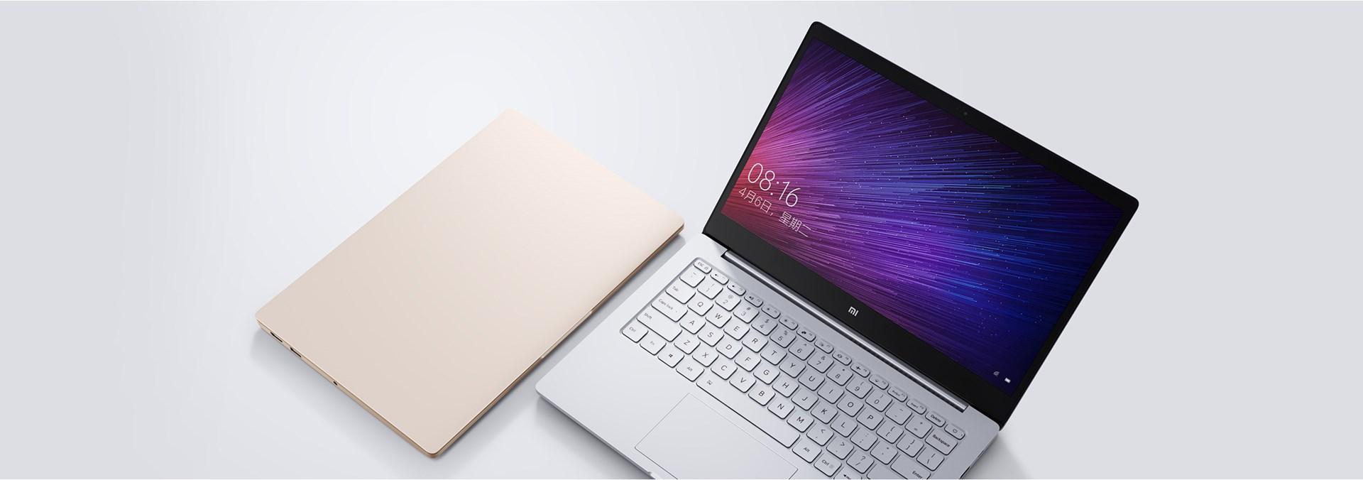 Xiaomi anuncia seus ultrabooks acessíveis