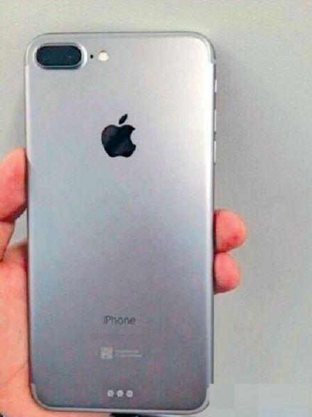 (Possível visual do sensor duplo do iPhone)
