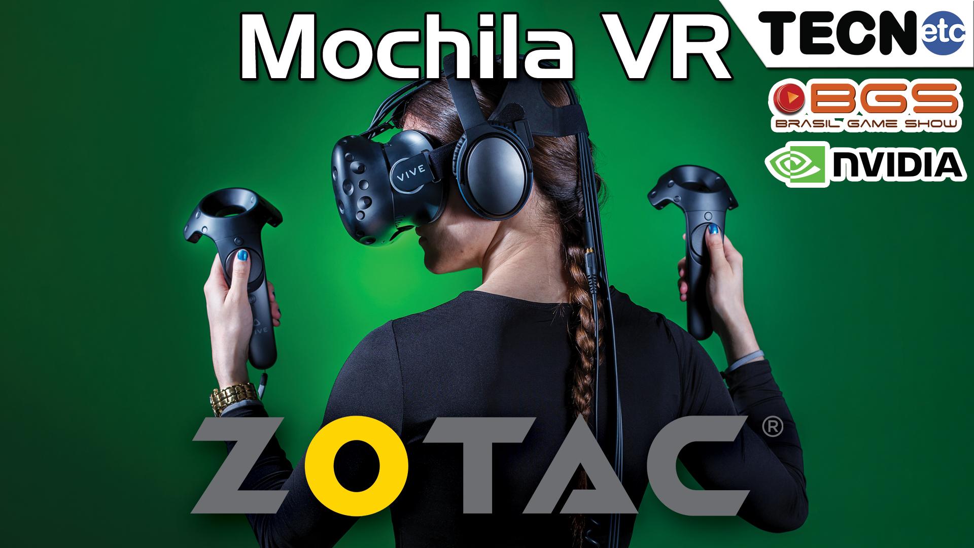 Mochila VR ZOTAC – NVIDIA – BGS 2016