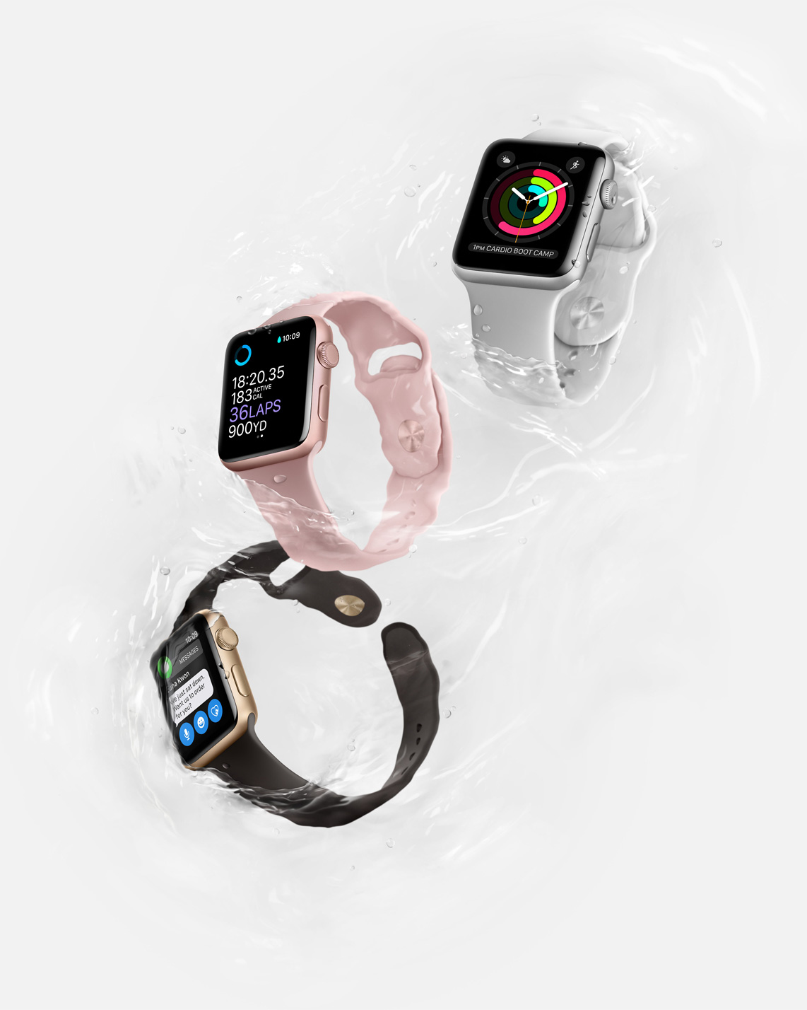 Conheça o Apple Watch 2