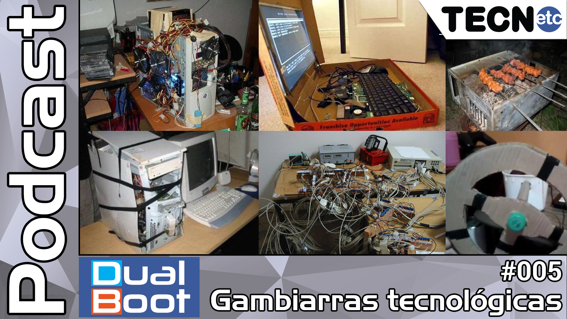 Dual Boot #005: Gambiarras tecnológicas – Podcast
