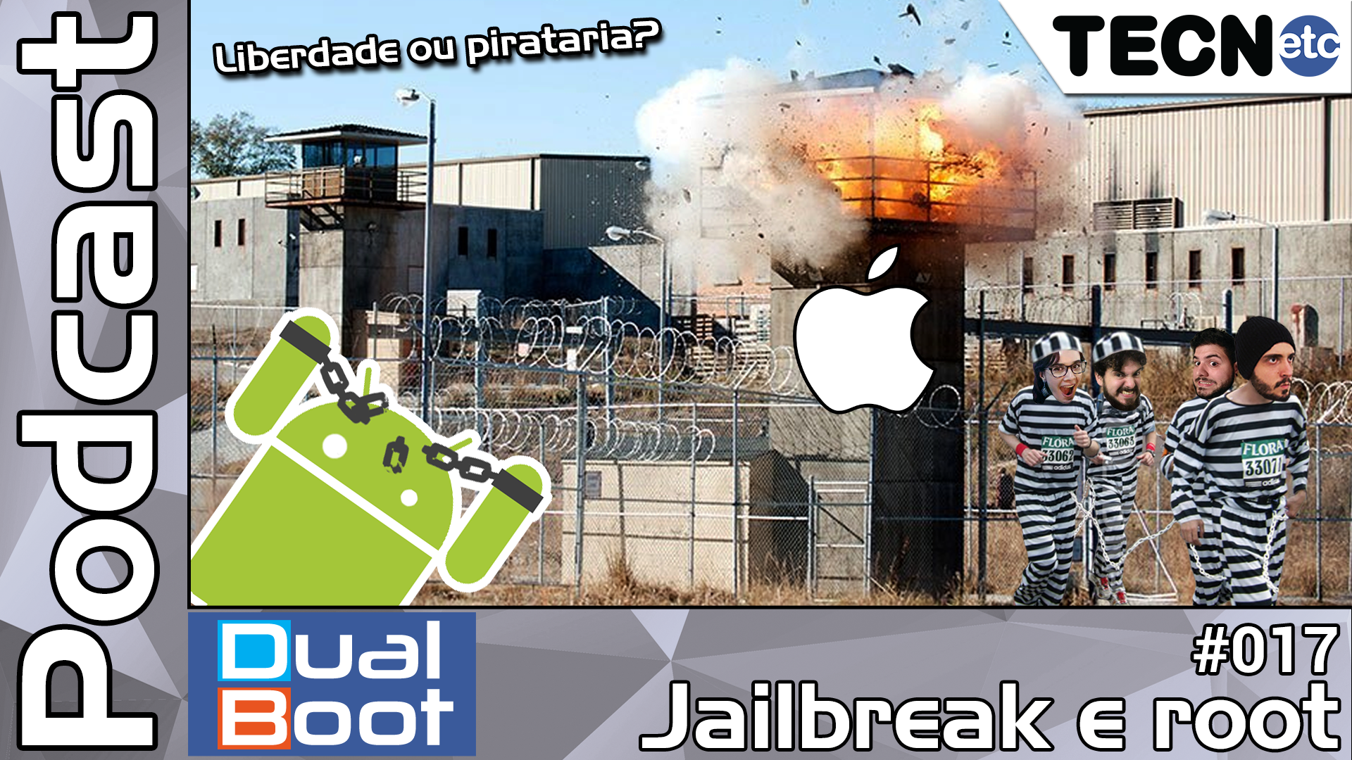 Dual Boot #017: Jailbreak e root – Podcast