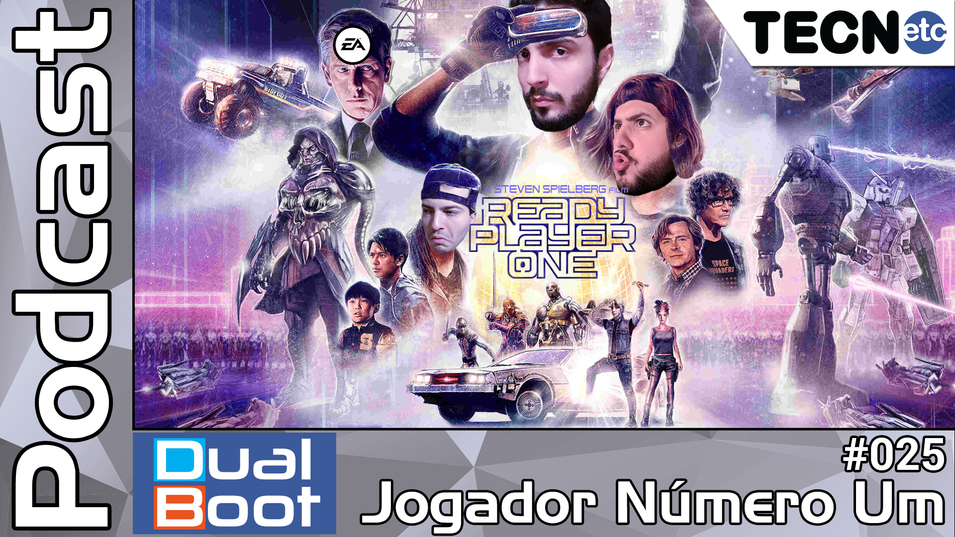 Dual Boot #025: Jogador Número Um – Podcast