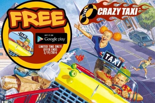 Crazy Taxi de graça para Android e iOS até o dia 19/03