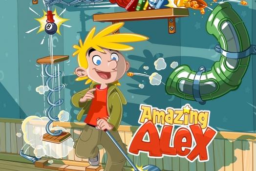 Amazing Alex chegará à plataforma mobile em Julho