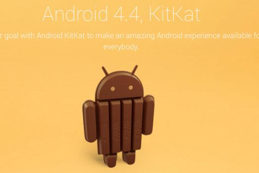 O Android 4.4 irá se chamar KitKat, e é sério!